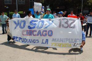 Marcha movimiento #132 en Chicago