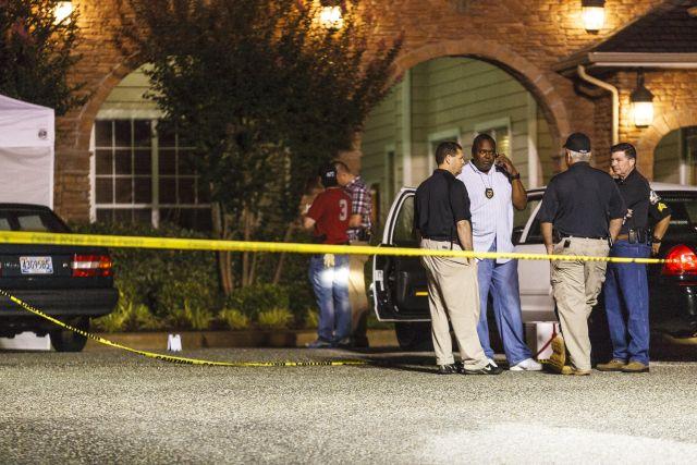 El tiroteo se registró después de un altercado en una fiesta celebrada en una alberca en un complejo residencial de estudiantes.