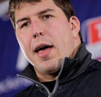 Sale libre bajo fianza David Diehl, de los Giants
