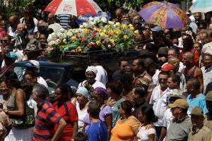 Cuba da último adiós a Teófilo Stevenson
