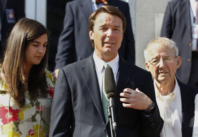 Eliminan cargos contra exprecandidato John Edwards