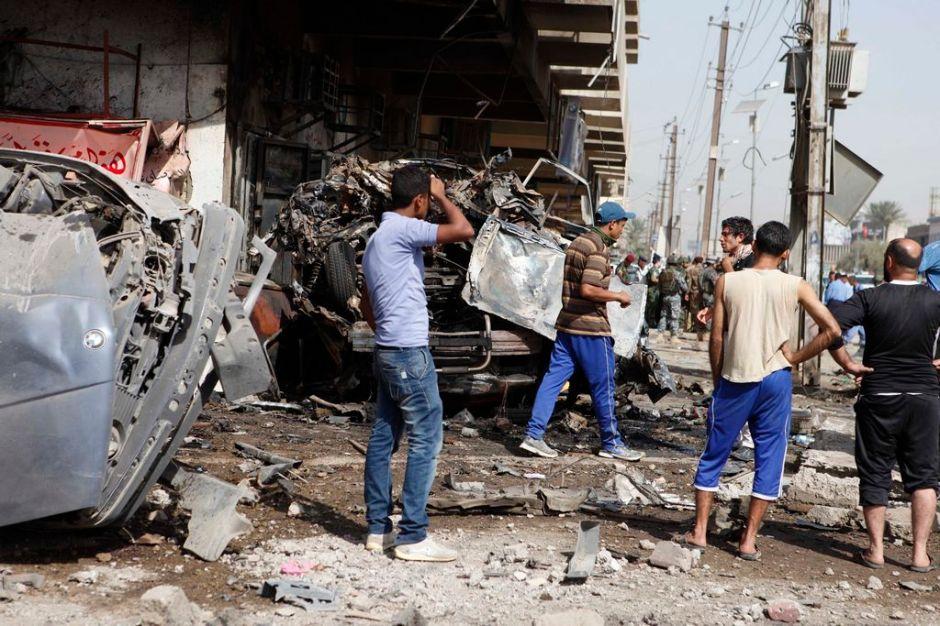 Ataques coordinados con coches bomba matan a 63 en Irak