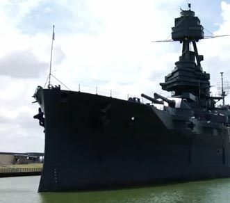 "Se inunda el ""Battleship Texas"" (video)"