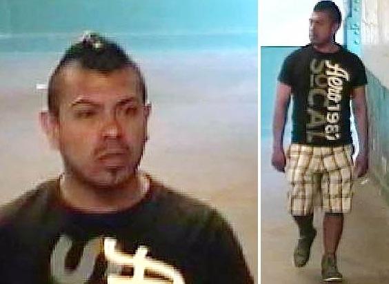 """El sospechoso fue descrito por las autoridades como un joven hispano de entre 20 a 25 años, con un corte de cabello estilo """"mohawk""""."""