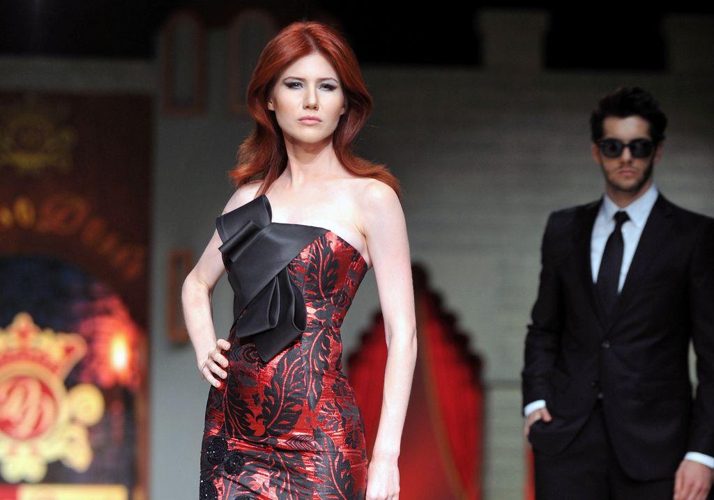Anna Chapman participó recientemente en un desfile de moda en Turquía.