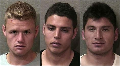 Jugadores del Toronto FC  arrestados en Houston.
