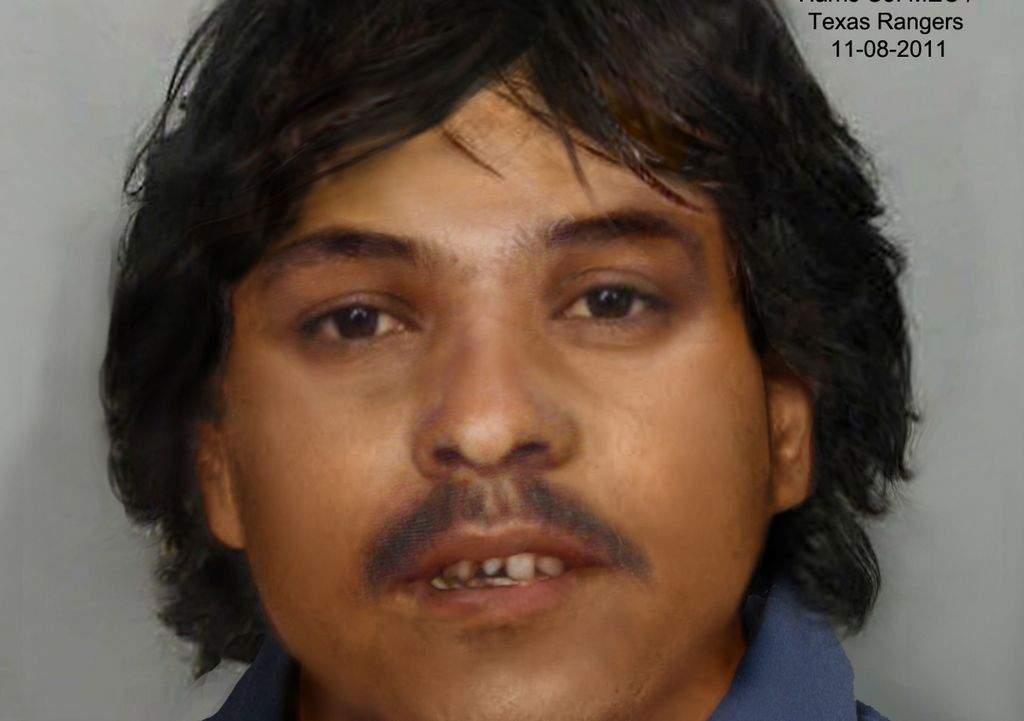 Imagen de un hombre asesinado en 1991 y que aún no ha sido identificado.