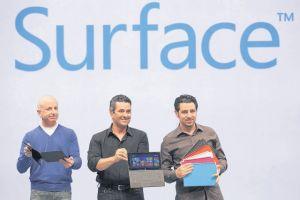 Microsoft presenta su primera tableta