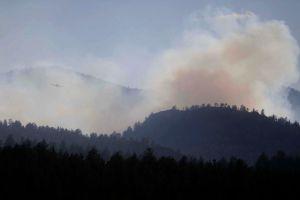 Amenaza con avivarse fuego en Colorado