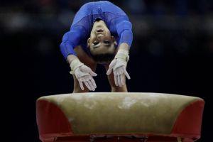 Así se mueve la gimnasta más vieja del mundo, casi 100 años tiene