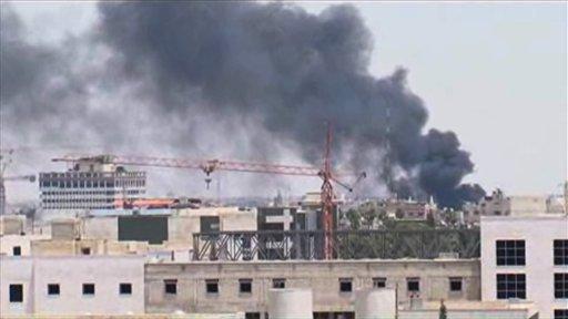 Siria: 3 heridos por explosión en Palacio de Justicia