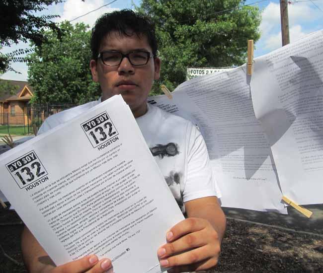 Mexicanos en Houston quieren elección limpia en su país