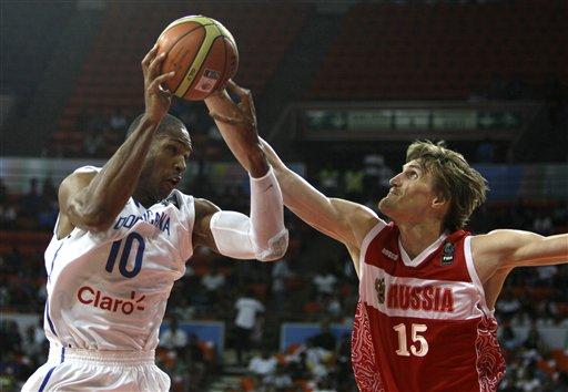 República Dominicana cae con Rusia 84-69 en Preolímpico