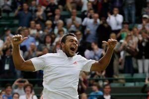 Tsonga vuelve a llegar a semifinales en Wimbledon