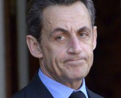 Registran espacios a Nicolas Sarkozy