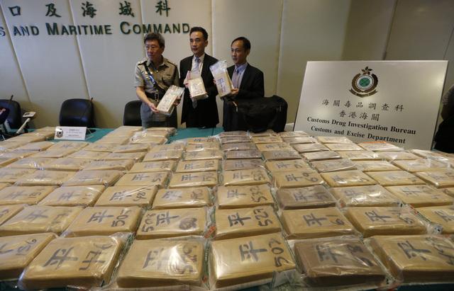 Gran decomiso de cocaína en   Hong KongRealiza Hong Kong el mayor decomiso de cocaína en su historia