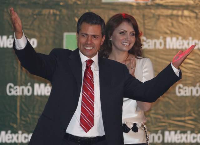 Declaran ganador a Peña Nieto