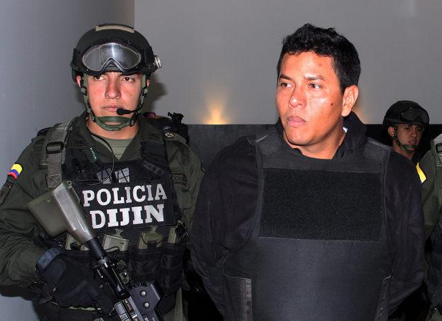 Estadounidenses en fiesta de narco colombiano