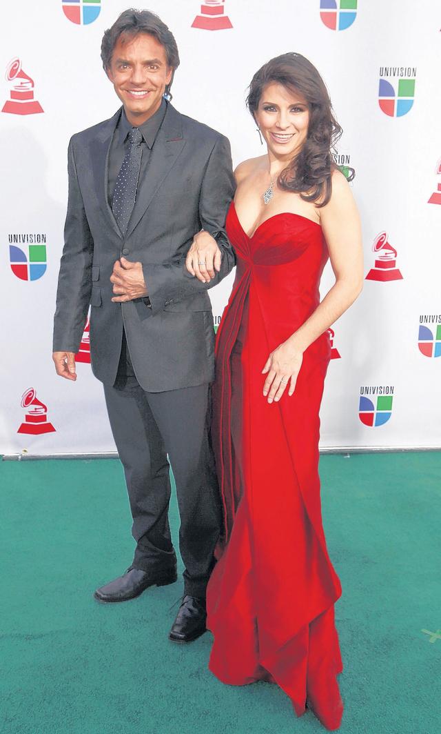 Se prometen amor eterno Eugenio Derbez y Alessandra Rosaldo se casaron el sábado