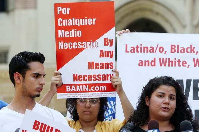 Alivio a estudiantes frena a inmigrantes