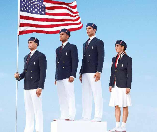 Ralph Lauren viste elegante a selección estadounidense
