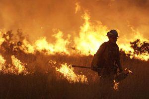 California en alerta por peligro de incendios