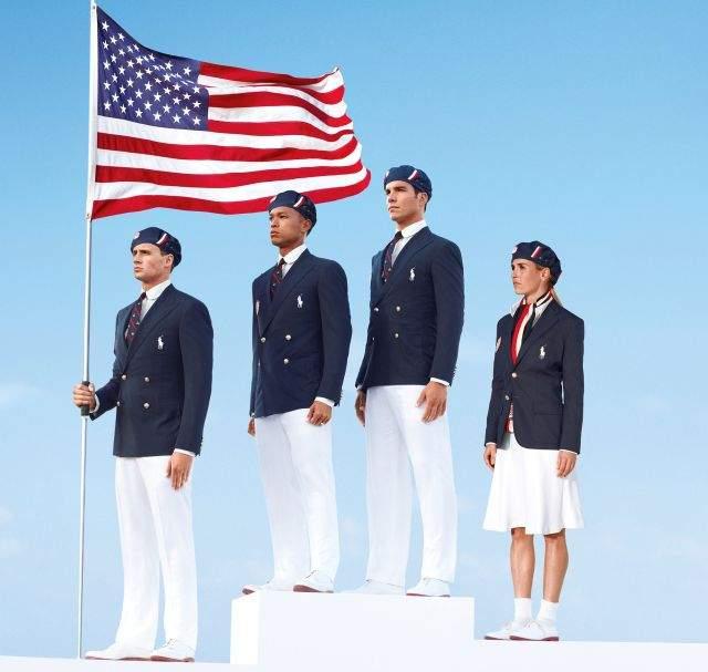El uniforme olímpico de EEUU es un clásico de Ralph Lauren