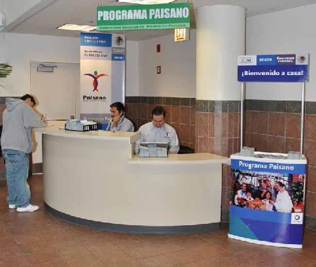 """Programa """"Paisano"""" recibió a 2 millones de mexicanos"""