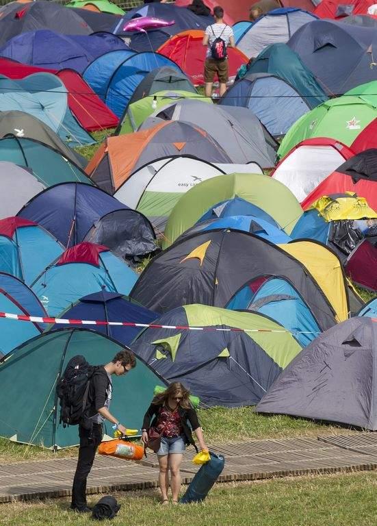 Imagen de un campamento.