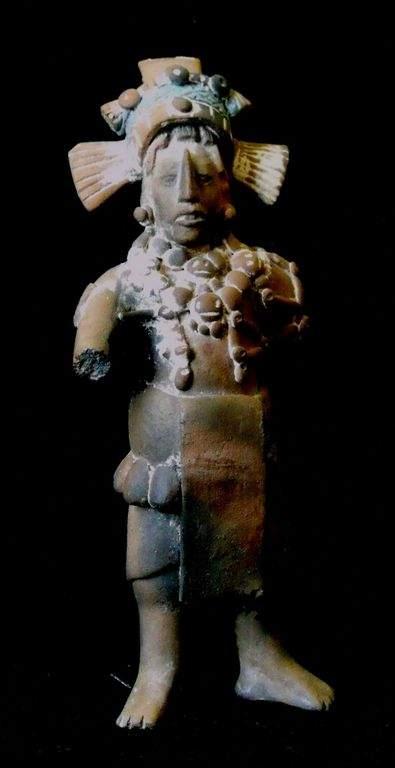 La muestra se encuentra integrada por 58 piezas arqueológicas.