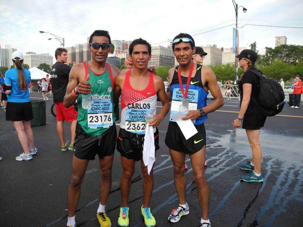 Gualberto Vargas, Carlos Cordero y Daniel Vargas