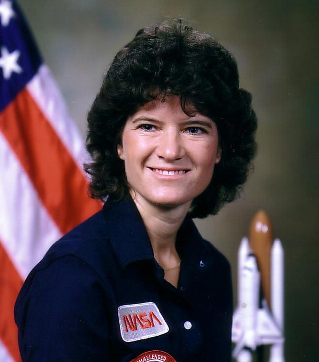 Ride rompió la barrera de género hace 29 años, cuando salió a bordo del   Challenger.