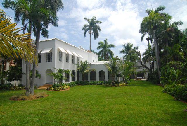 """La mansión del famoso gángster estadounidense Alphonse """"Scarface"""" Capone."""