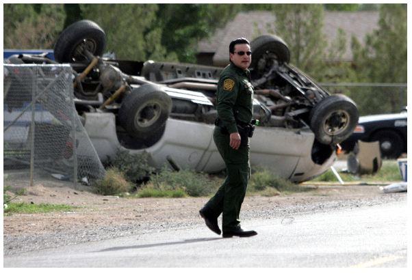 El accidente carretero registrado la noche del domingo en el sureste de Texas.