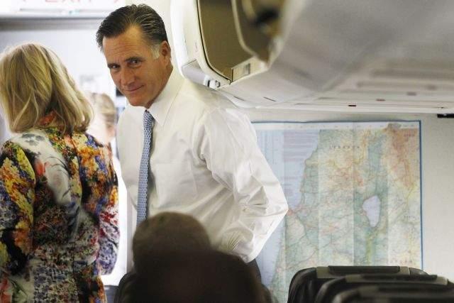 "Palestinos catalogan de ""racista"" a Mitt Romney"