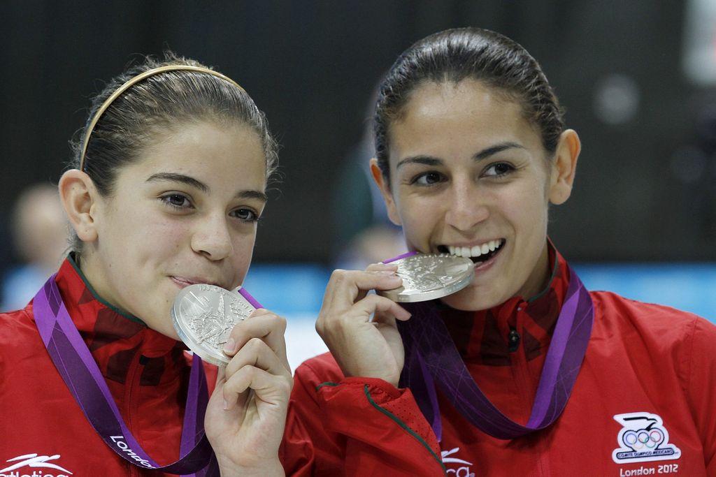 Mexicanas logran segunda medalla de plata para su país en Londres 2012 (fotos y video)