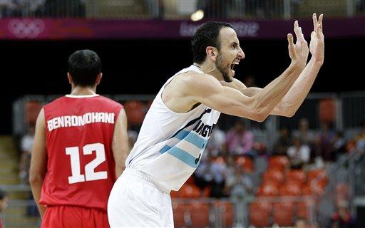 Argentina logra su segundo triunfo en básquetbol