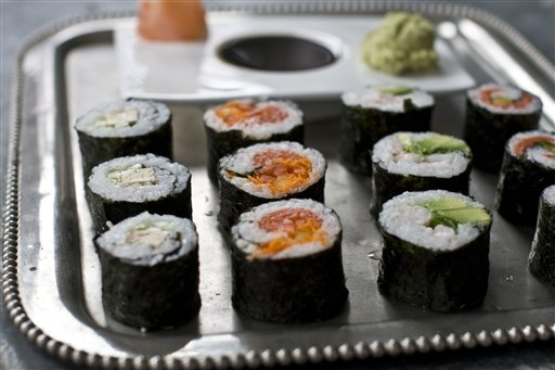 El sushi congelado no debe llevar atún molido de de Jensen Tuna Inc.