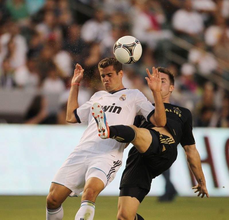 Galaxy sucumbe 5-1 ante el Real Madrid (fotos y video)