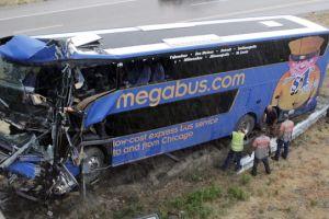 Fatal choque de autobús