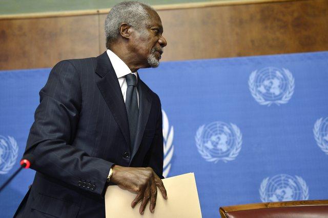 Annan tira la toalla respecto a crisis siria