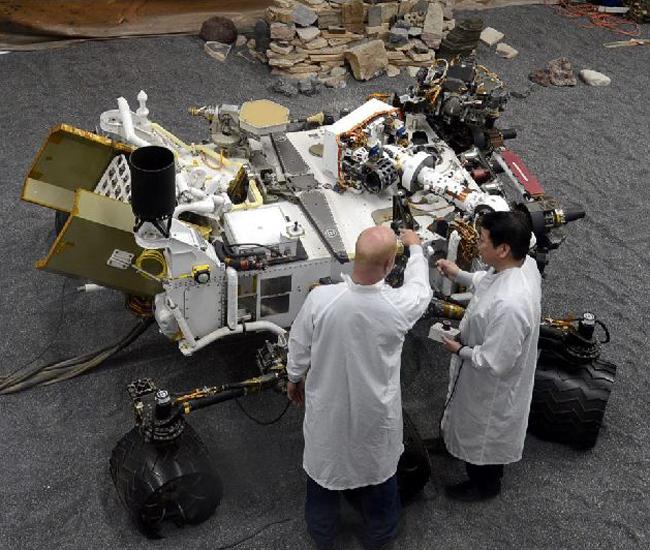 Curiosity explorará vida microbiana en Marte
