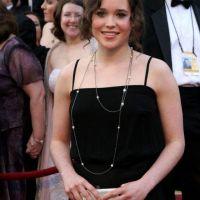 Foto: Ellen Page y su pasión por el arte con toallas sanitarias ensangrentadas