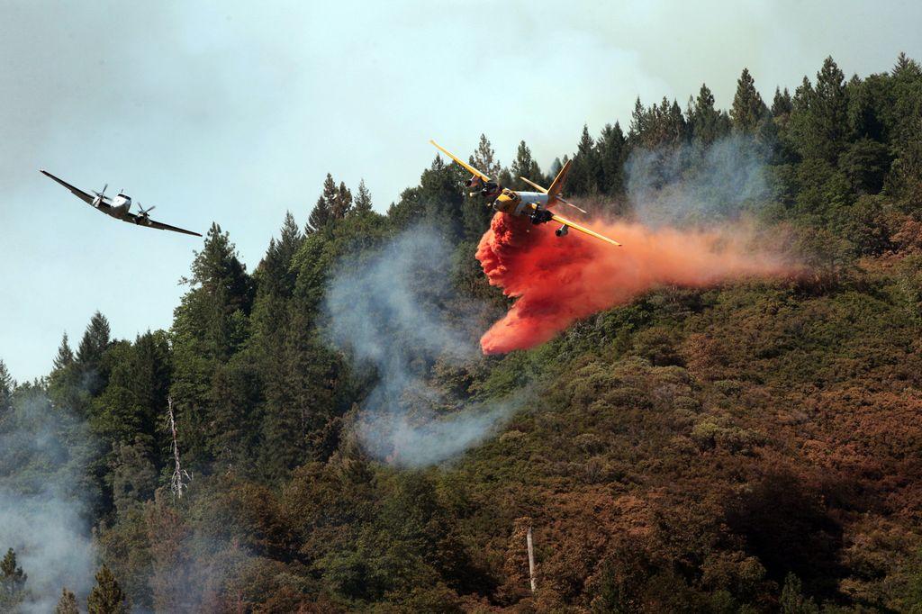 Tormentas eléctricas empeoran incendios forestales (video)