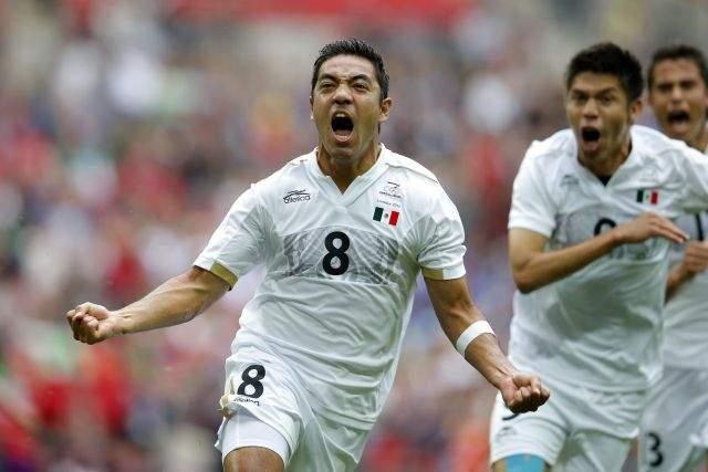 México va por el oro olímpico en fútbol (Fotos)