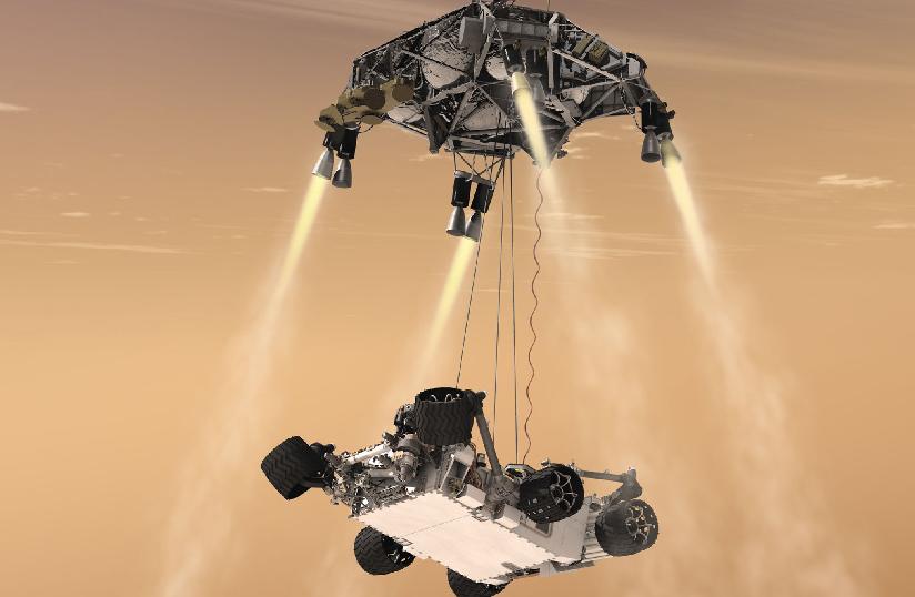 Curiosity envía primeras imágenes de Marte (Fotos y video)