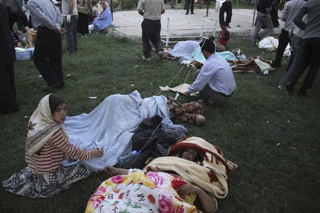 Muertos y heridos tras dos terremotos en Irán