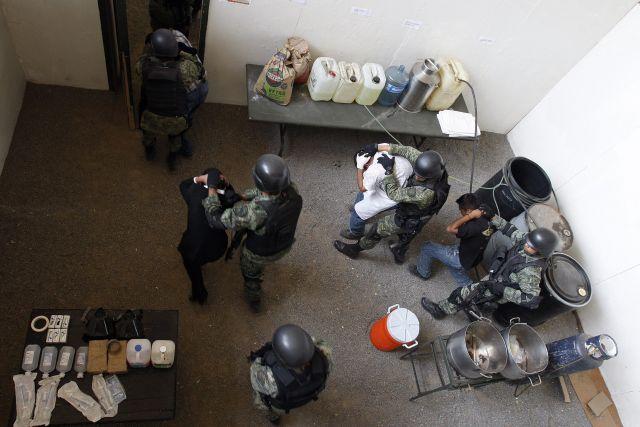 Revelan cómo entrenan las fuerzas especiales en México