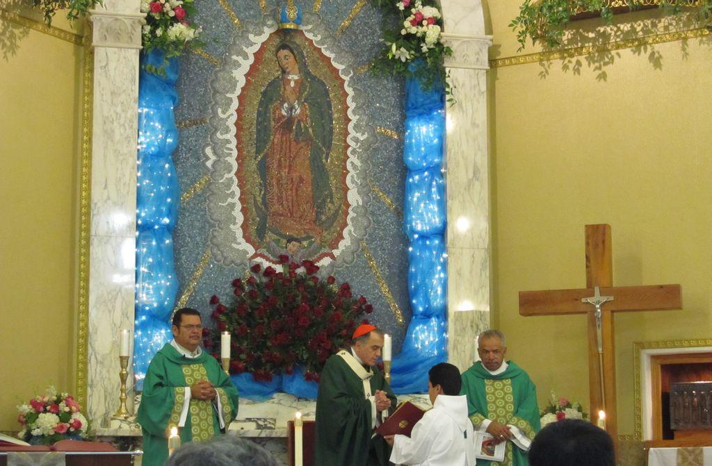 Celebran a Nuestra Señora de Guadalupe en Houston