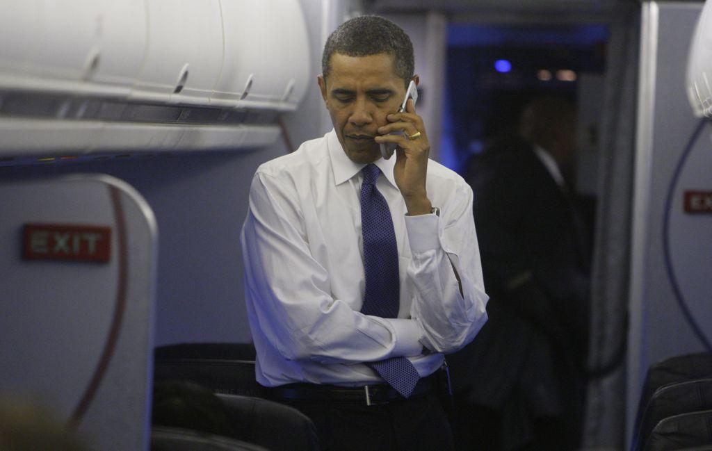 Obama mantuvo conexión telefónica con David Cameron.